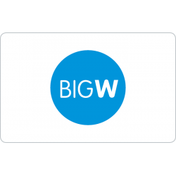 Big W Instant Gift Card - $100