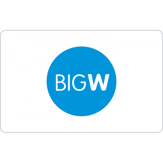 Big W Instant Gift Card - $50