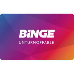 Binge Instant Gift Card - $20