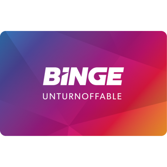 Binge Instant Gift Card - $50