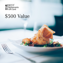 Dining Card - $500 Value