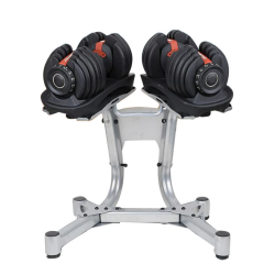 Lifespan Fitness CORTEX Adjustable Dumbbells 48kg with Stand